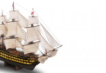Image of the HMS Victory Scale Model