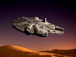 Image of the Millennium Falcon