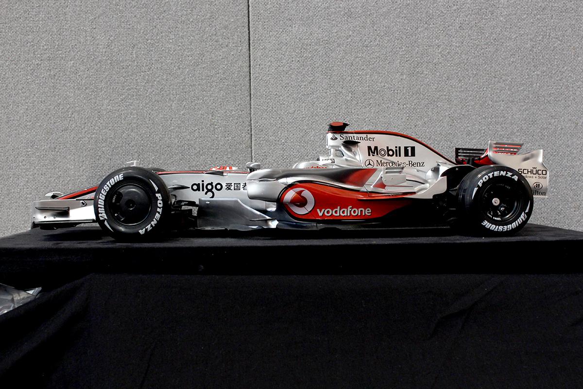 Image of the McLaren MP4-23 Formula 1 race car scale model