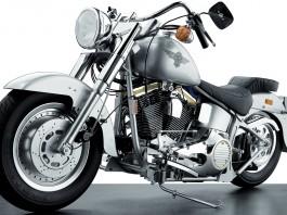 Image of a Harley Davidson Fat Boy scale model
