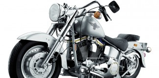 Image of a Harley Davidson Fat Boy scale model