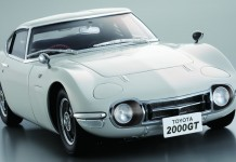 Image of a Toyota 2000GT scale model