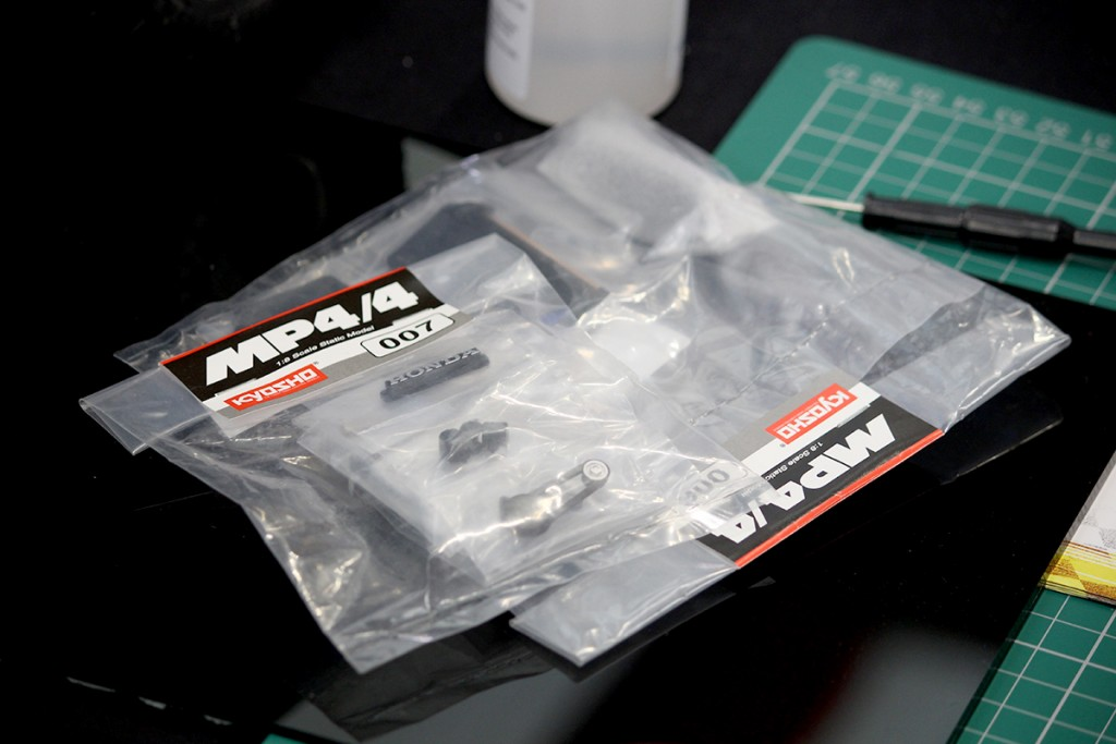Image of sealed scale model parts, for blog about top tips for scale modelling