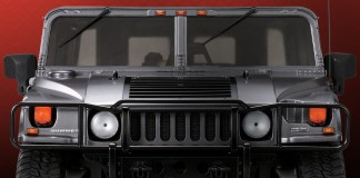 Image of ModelSpace Hummer H1 scale model, as part of a blog about the Hummer's history