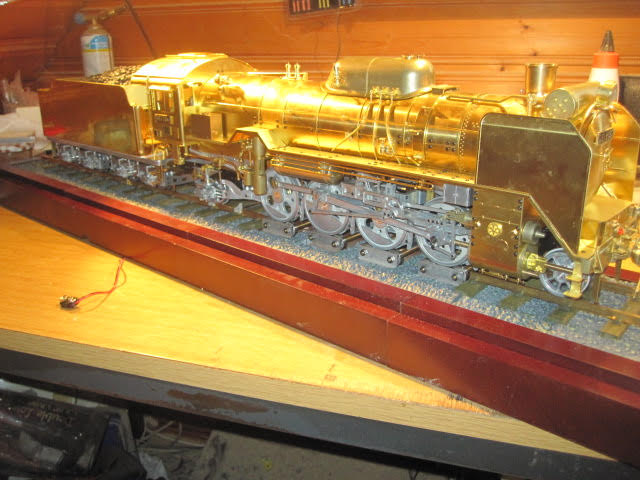 Image of the De Agostini ModelSpace 1:24 scale D51 locomotive scale model, as part of a blog about the ModelSpace June scale modeller of the month - Bernd Peppmeier.