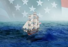 Image of the USS Constitution ship, for a blog about this famous American ship.