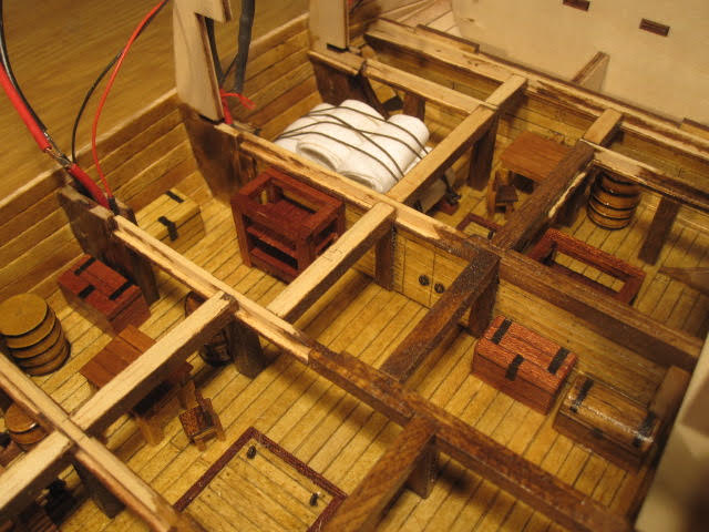 Image of the Vasa scale model ship, as part of a blog about the ModelSpace June scale modeller of the month - Bernd Peppmeier.