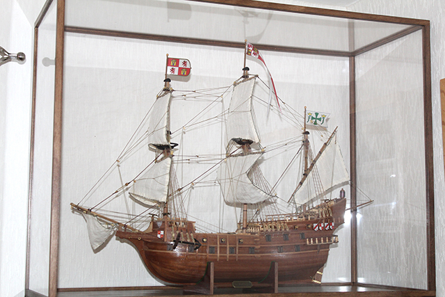 Image of the DeAgostini ModelSpace San Francisco II scale model ship, as part of a blog about the ModelSpace January scale modeller of the month - Graeme Pemberton.