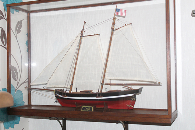 Image of the DeAgostini ModelSpace Swift 1805 scale model ship, as part of a blog about the ModelSpace January scale modeller of the month - Graeme Pemberton.