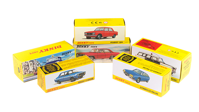Image of the DeAgostini ModelSpace Dinky Toys diecast models, as part of a blog about how to start your diecast models collection.