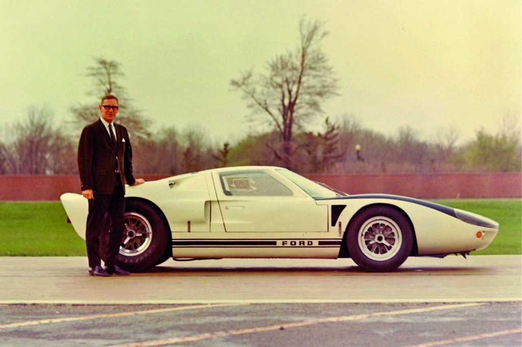 Archive photo of the Ford GT, as part of a blog about the Ford GT's facts and history.