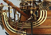 Image of the DeAgostini ModelSpace San Felipe scale model ship, as part of a blog about the San Felipe ship and its history.