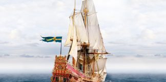 Image of the Vasa ship, for a blog about this famous Swedish warship.