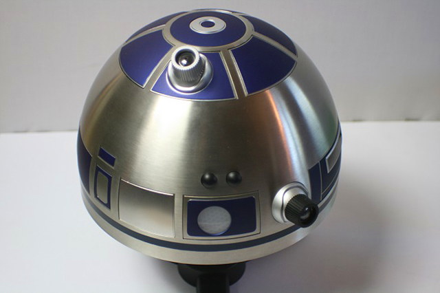 Image of the DeAgostini R2-D2 as part of a blog about the ModelSpace June scale modeller of the month - Derek Williams.