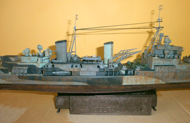 Image of weathered scale model, as part of a guide blog about weathering scale models.
