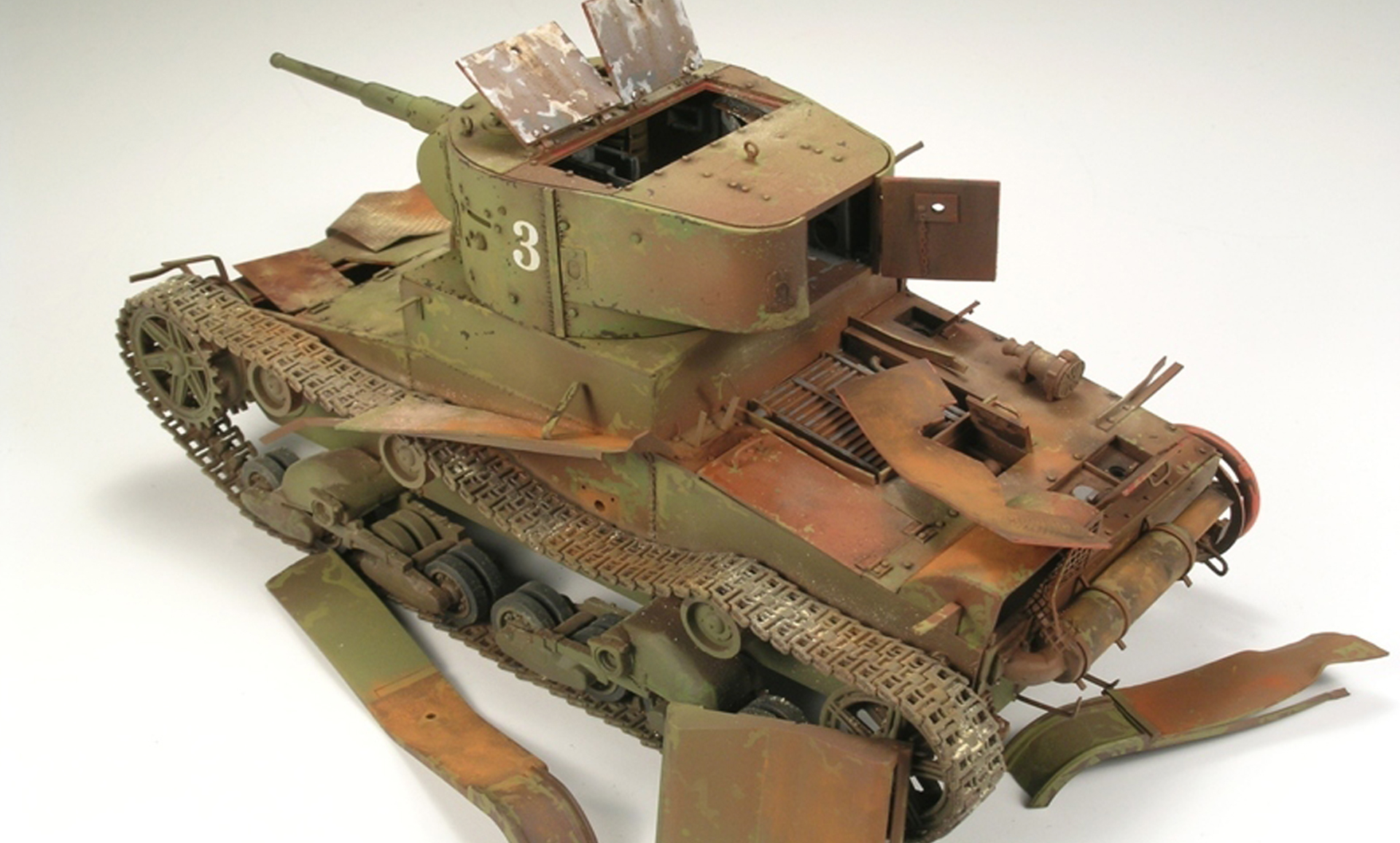 Scale Modelling Tips: Weathering Your Scale Model – Model Space Blog