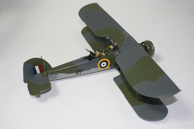 Image of plastic scale model, as part of a guide blog about how to build plastic models.