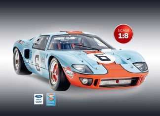 Image of the Ford GT, as a cover image for a blog about the Ford GT's Success at Le Mans '66.