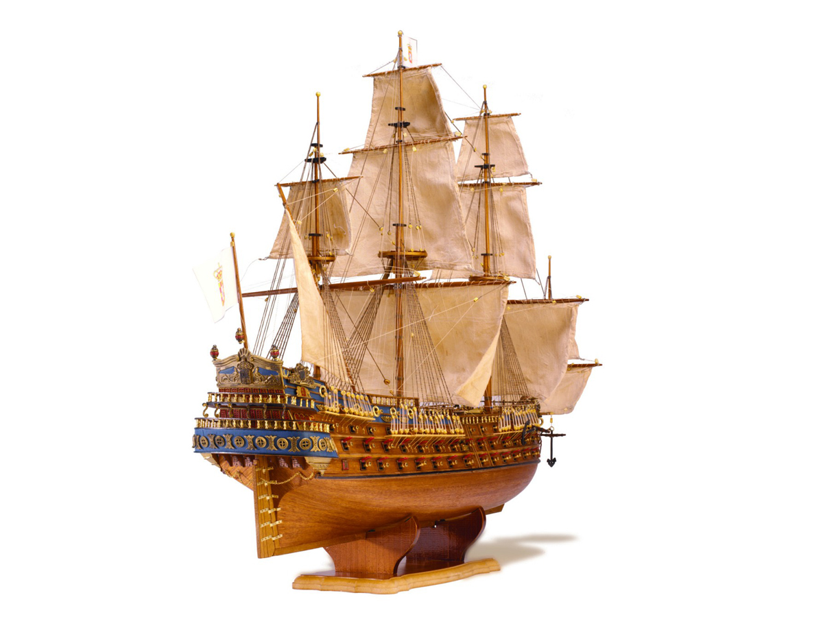 Image of ModelSpace San Felipe scale model, as part of a blog about large scale model kits