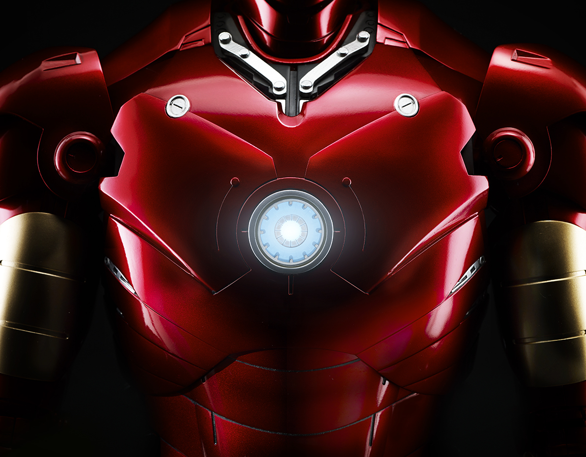 Image of scale model Iron Man, as part of a blog about Fanhome.