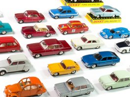 Image of DeAgostini ModelSpace Dinky Toys diecast model cars, as part of a blog about our best diecast models.