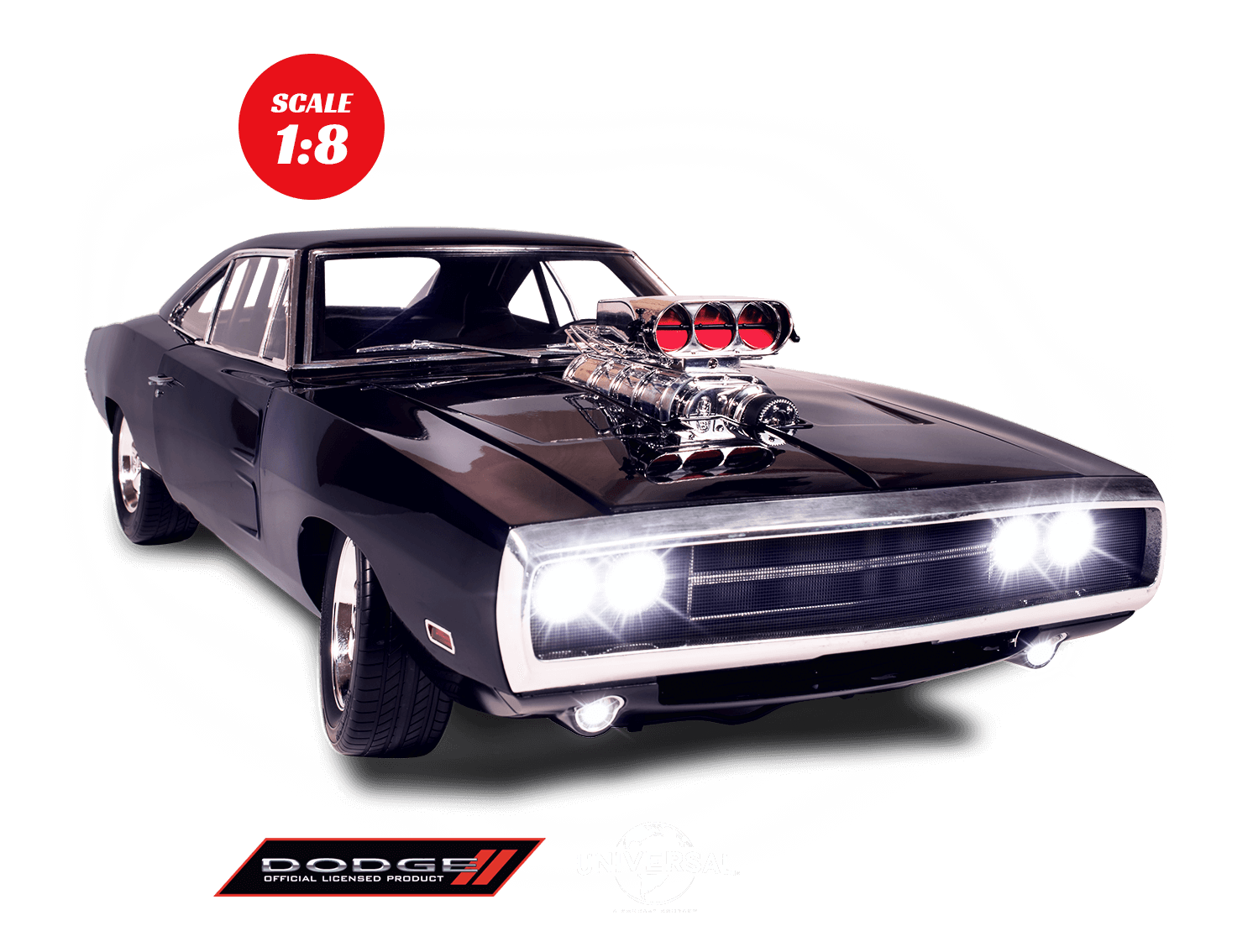 Build The Fast Furious Dodge Charger Model Car Modelspace