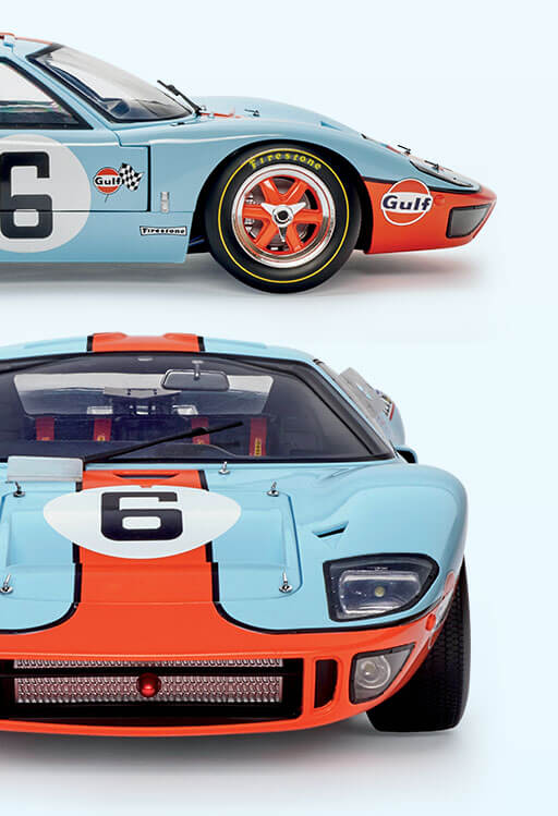 Build your own Ford GT in 1:8 Scale