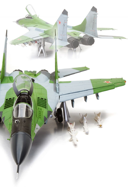 Build your own MiG 29 in 1:24 Scale