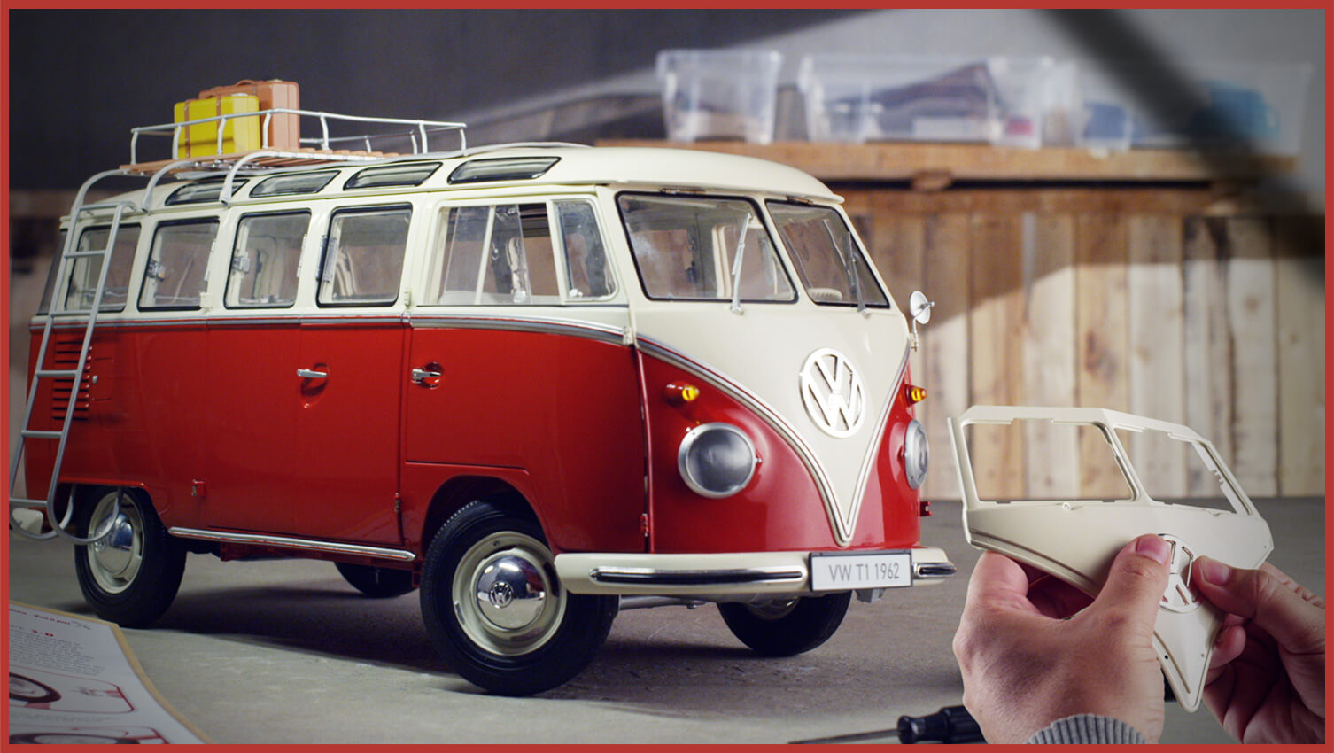 Build the VW T1 Samba Camper Van Model | ModelSpace