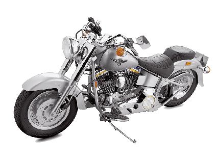 Harley-Davidson Fat Boy - 1:4 Scale Model