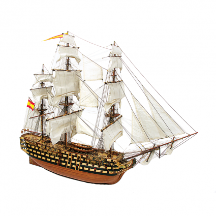 Santisima Trinidad scale model