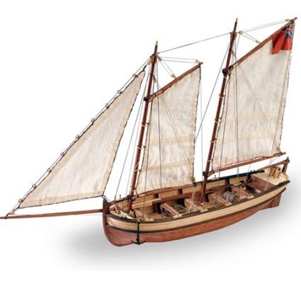HMS Endeavour Longboat