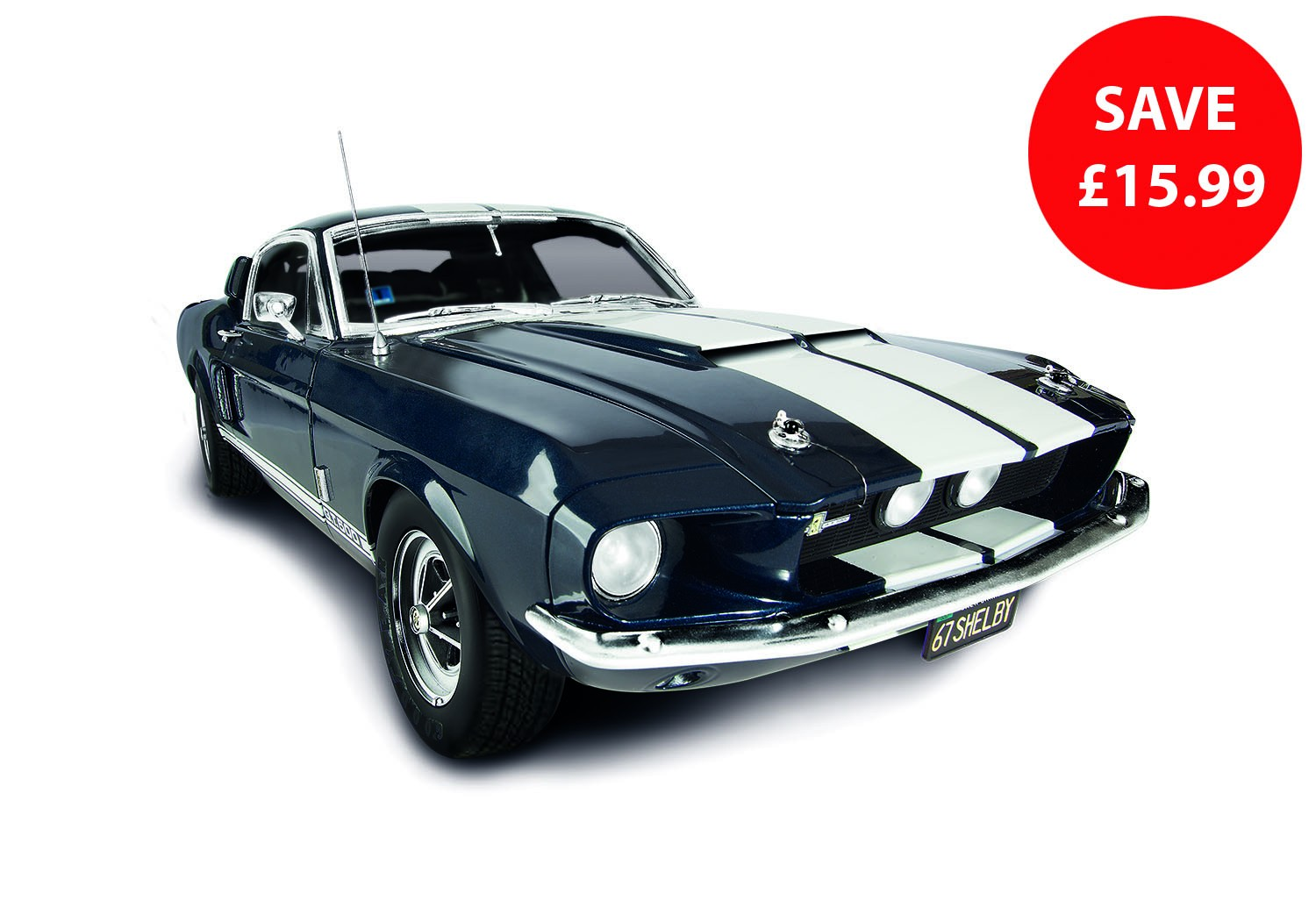 Ford Shelby Mustang De Agostini Modelspace Model Car Kit