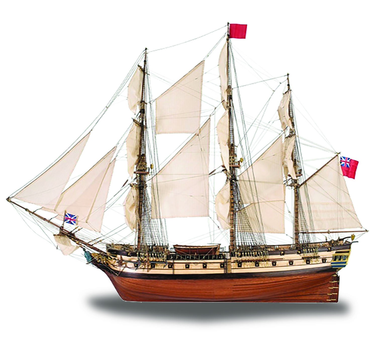 Hms Surprise 1 48 Scale Model Ship Full Kit Modelspace