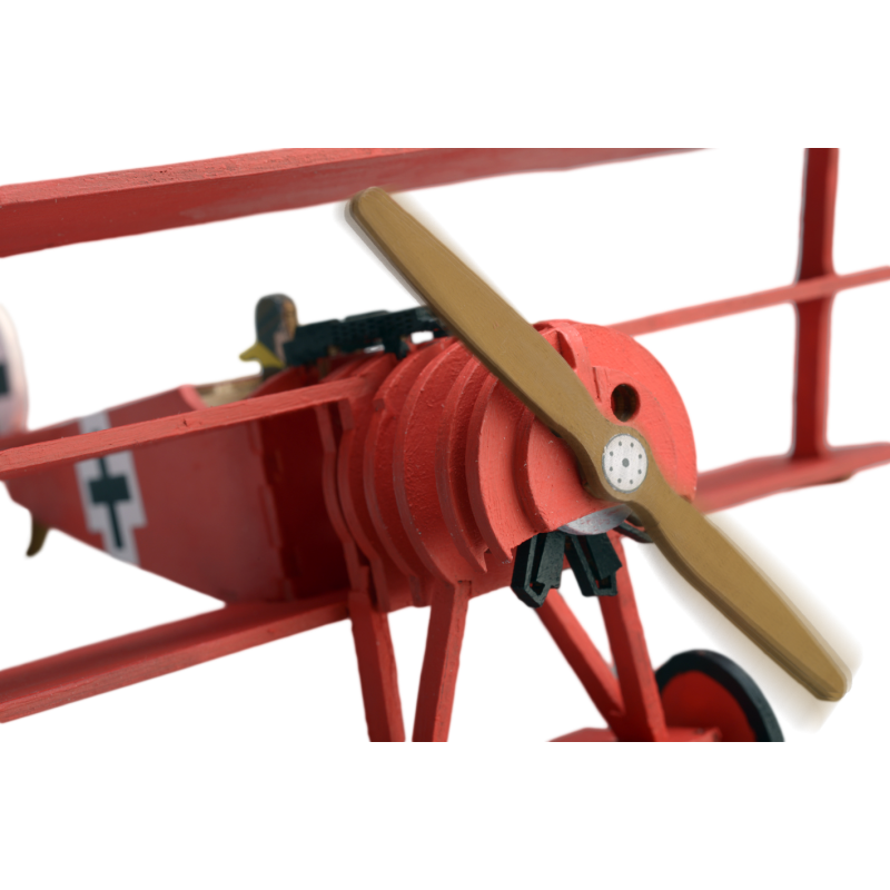 Red Baron Plane | Kids Model | Full Kit | ModelSpace | 800 x 800 png 513kB