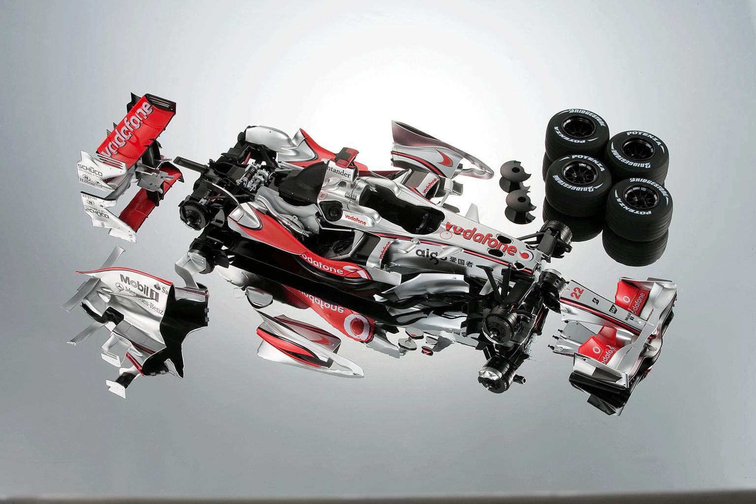 Mclaren Kit Car >> McLaren MP4-23   ModelSpace