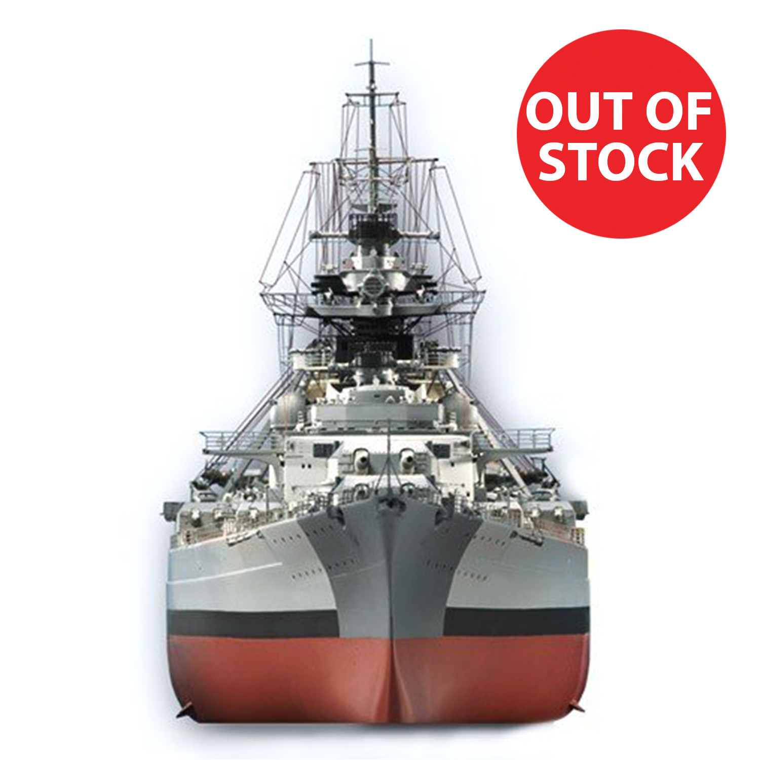 bismarck 1 200 model ship full kit modelspace. Black Bedroom Furniture Sets. Home Design Ideas