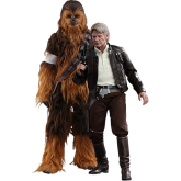Han Solo & Chewbacca Figure Set | 1:6 Scale