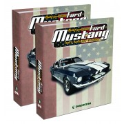 Ford Shelby Mustang GT500 | 1:8 Model | Binders Set