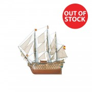 Santa Ana Ship | 1:84 Model | Full Kit