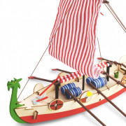 Viking Ship | Kids Model | Full Kit