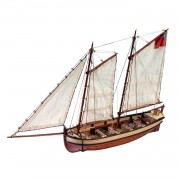 HMS Endeavour Longboat | 1:50 Model | Full Kit