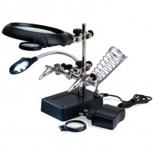 Magnifying Device with LED Lights
