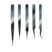 Set of Fine Tweezers   Tools