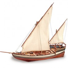 Sultan Arab Dhow | 1:60 Model | Full Kit