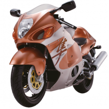 Suzuki GSX 1300R Hayabusa - Scale model
