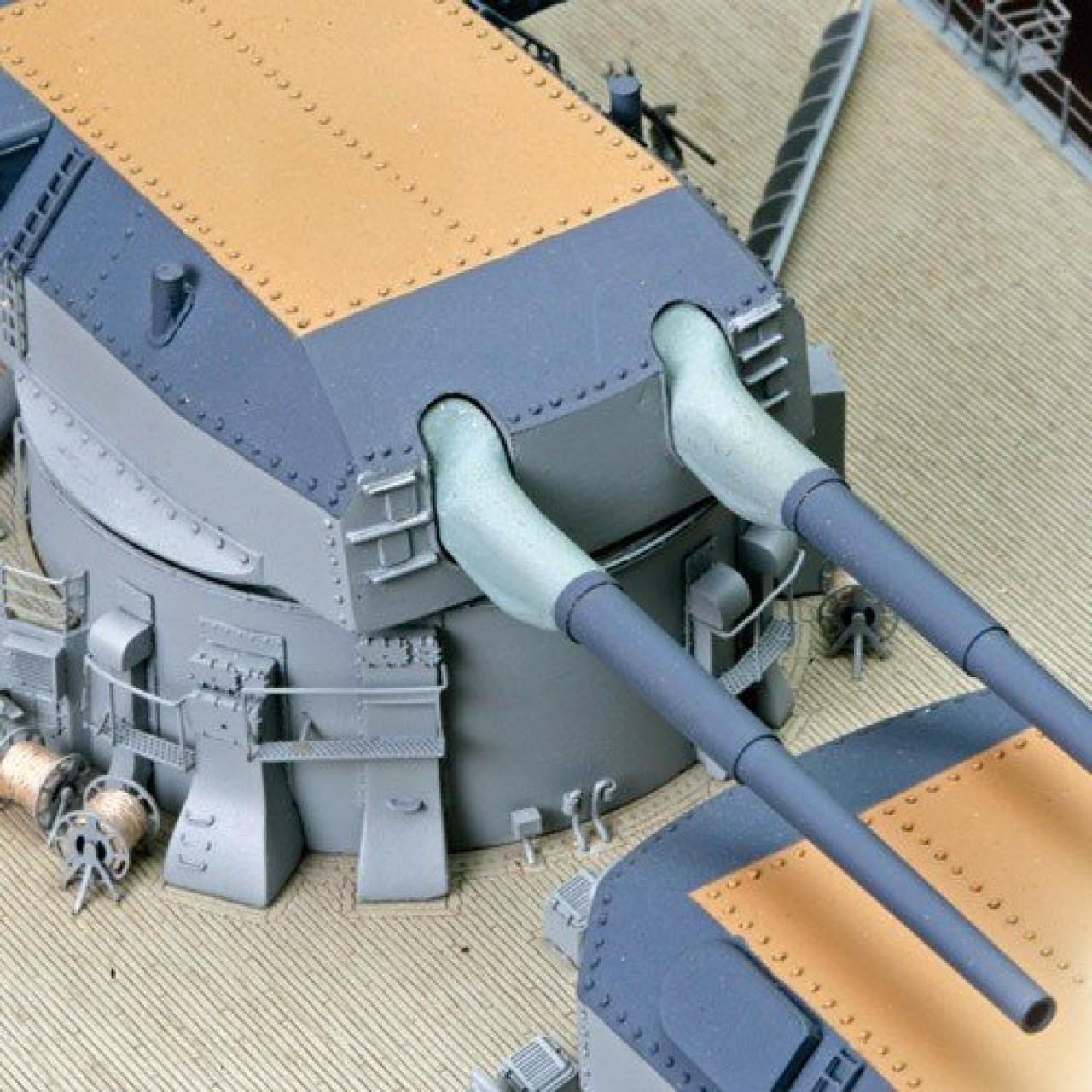 bismarck  model ship full kit modelspace