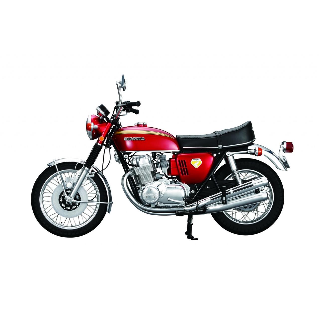 honda cb750 1 4 scale model motorbike full kit. Black Bedroom Furniture Sets. Home Design Ideas