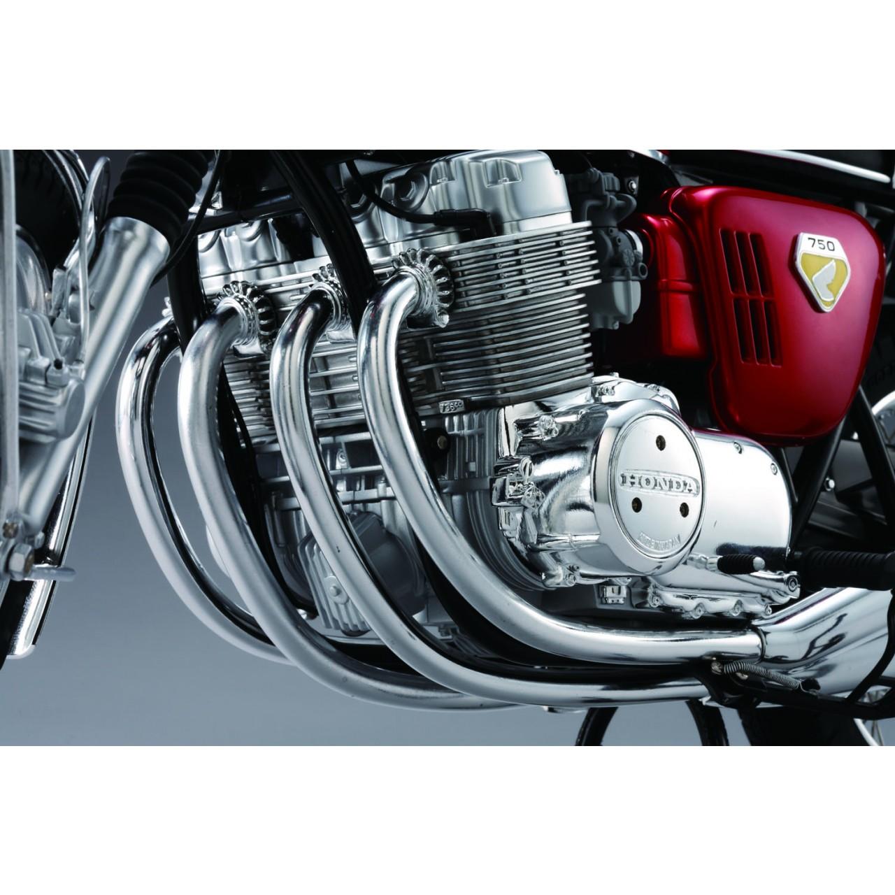Honda Cb750 14 Scale Model Motorbike Full Kit Modelspace