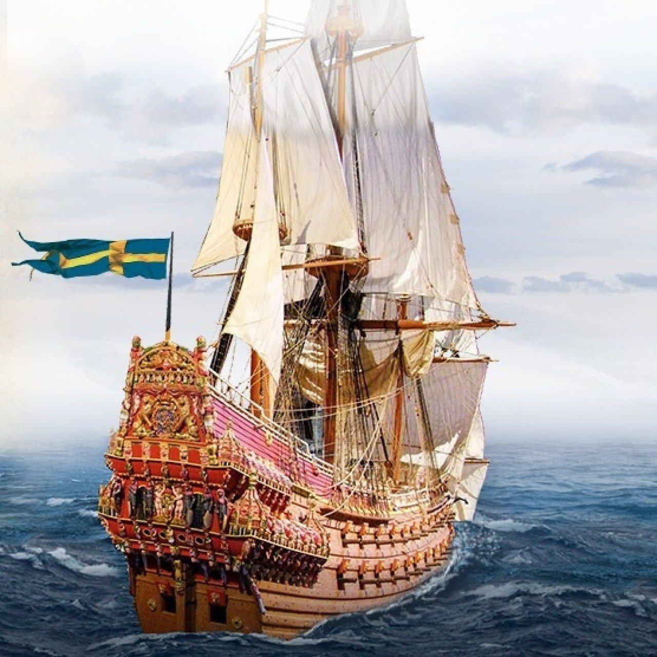 Vasa 1 65 scale model ship modelspace for Vasa ship